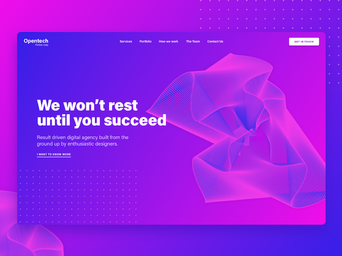 Futuristic Colours web design trends to expect in 2021 - Agile Digital Strategy