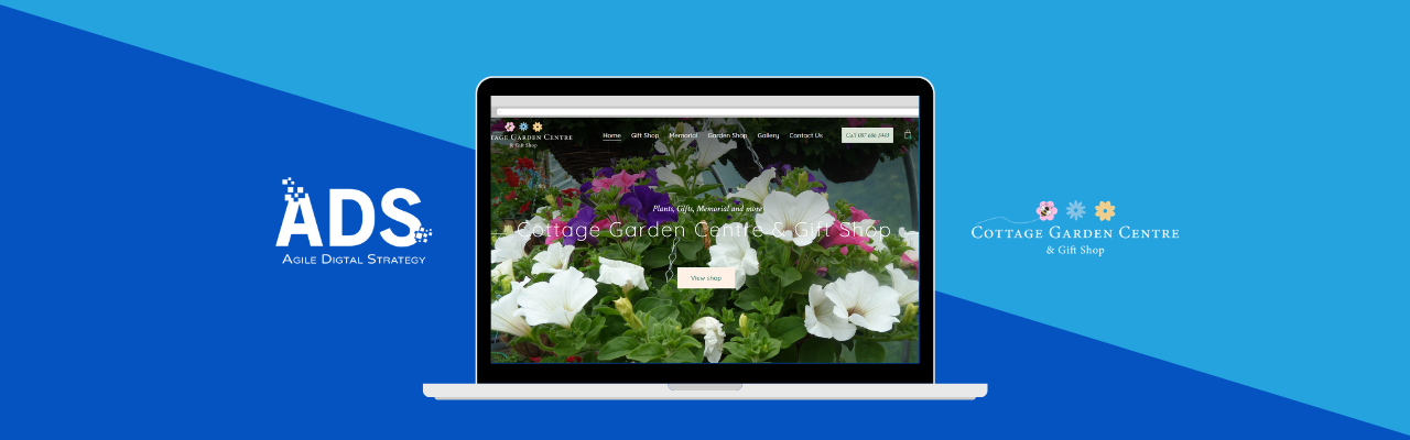 cottage garden centre - agile digital strategy