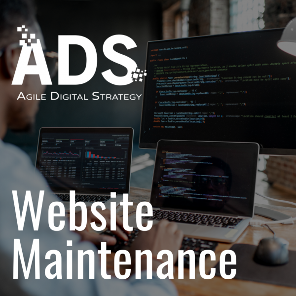 Website Maintenance available from Agile Digital Strategy