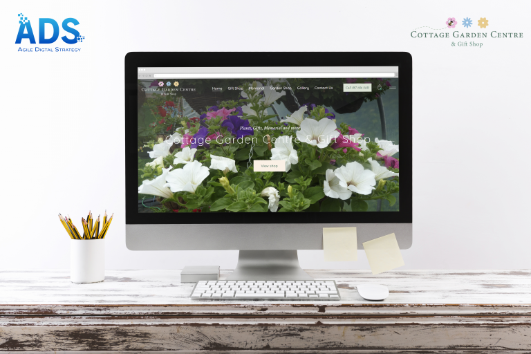 Cottage Garden Centre Web Design - Agile Digital Strategy