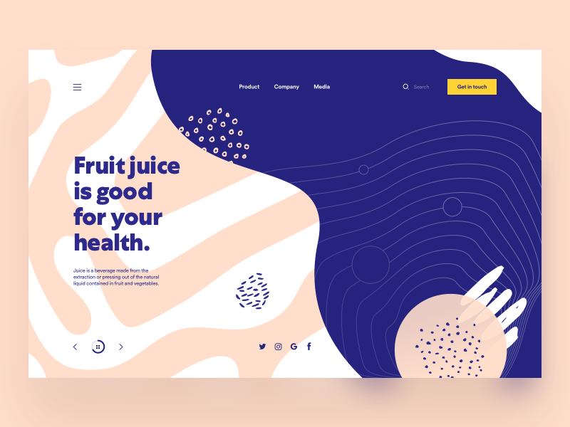 organic shapes web design trends to expect in 2021 - agile digital strategy