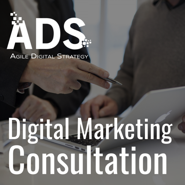 Digital Marketing Consultation available from Agile Digital Strategy