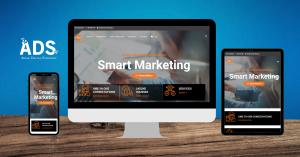 Case Study Smart Marketing Bespoke Web design by Agile Digital Strategy