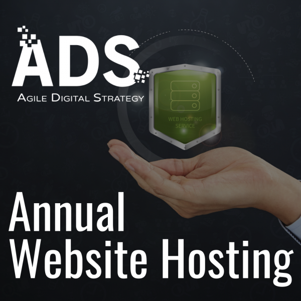 Website Hosting Annually available from Agile Digital Strategy