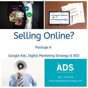 Trading Online Voucher Packages with Agile Digital Strategy - package a with SEO