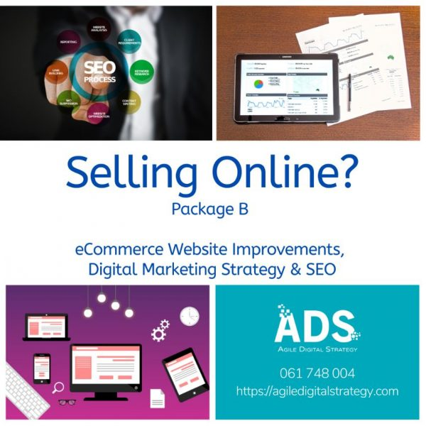 Trading Online Voucher Packages with Agile Digital Strategy - package b with SEO